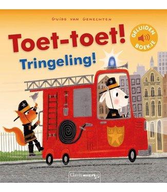 Clavis Clavis Geluidenboek Toet-toet! Tringeling! 2+