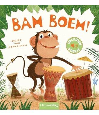 Clavis Clavis Geluidenboekje Bam Boem! 2+