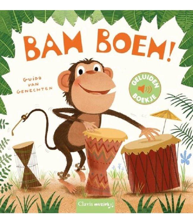Clavis   Geluidenboekje   Bam Boem!   2+