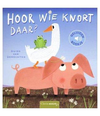 Clavis Clavis Geluidenboekje Hoort Wie Knort Daar? 2+