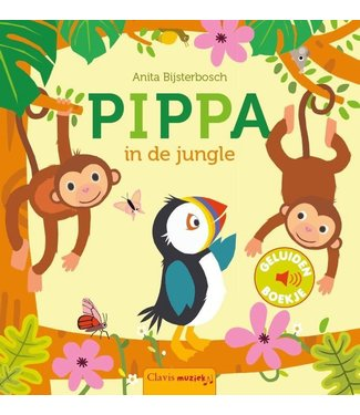 Clavis Clavis Geluidenboekje Pippa in de Jungle 2+