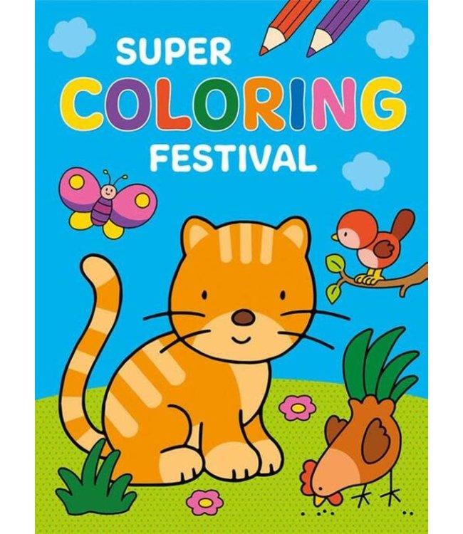 Deltas Kleurboek Super Festival 2+