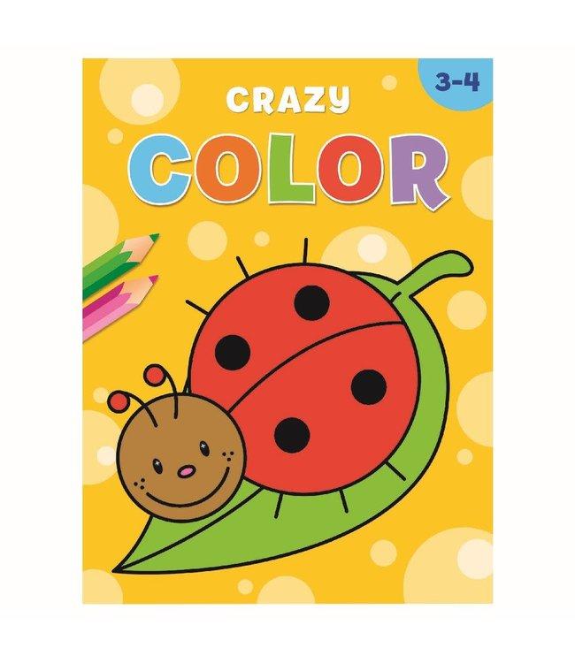 Deltas |  Kleurboek | Crazy Color | 3-4 jaar