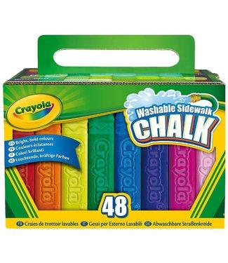 Crayola Crayola | Stoepkrijt | 48 stuks | 4+