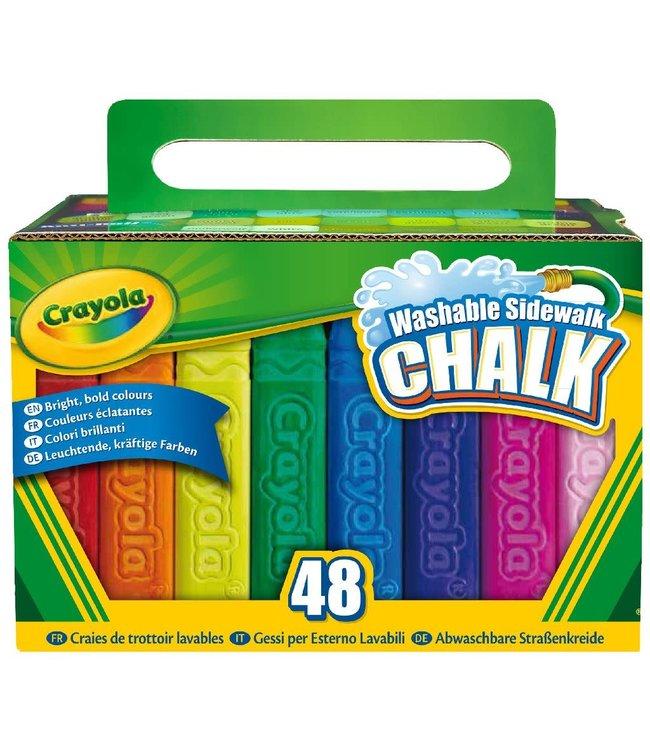 Crayola   Stoepkrijt   48 stuks   4+