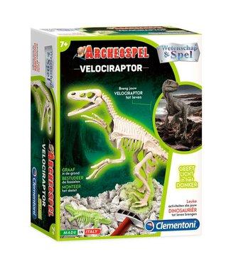 Clementoni Clementoni | Wetenschap en Spel | Archeospel Velociaptor | 7+