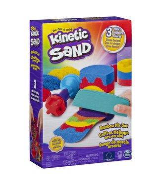 Kinetic Sand   Rainbow Mix Set   423 gram 3+
