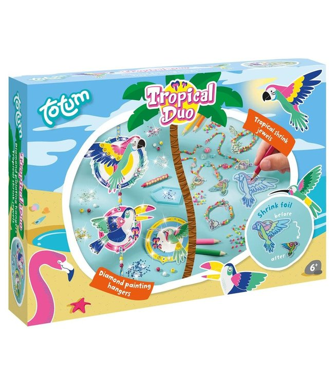 Totum Tropical Duo 2 in 1 Set 6+