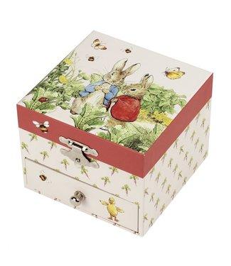 Trousselier Trousselier Musical Cube Box Peter Rabbit© Carotte
