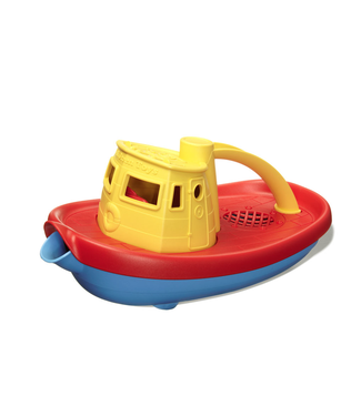 Green Toys Green Toys Tug Boat - Yellow 24 cm  + 6 mnd