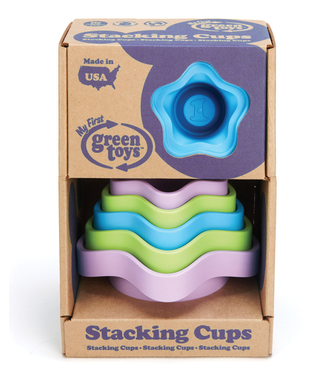 Green Toys Green Toys Stacking Cups  + 6 mnd