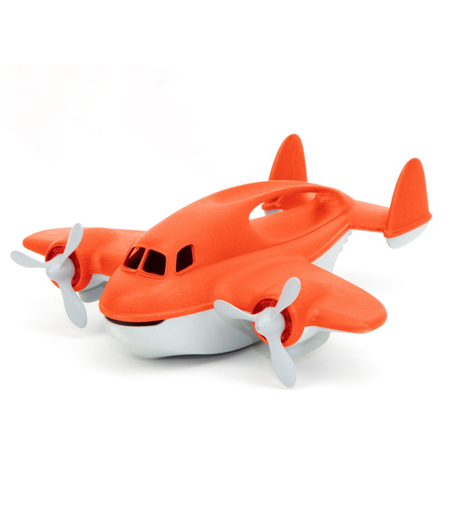 Green Toys Fire Plane  27 cm  1+