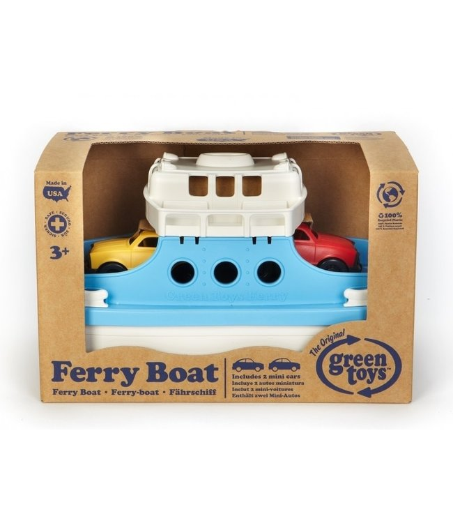 Green Toys Ferry Boat with Cars  3+