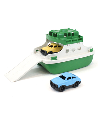 Green Toys Green Toys Green Ferry Boat with Cars  3+