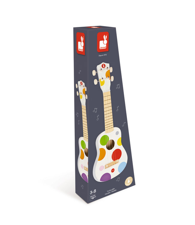 Janod Confetti Ukelele 53,5 cm 3+