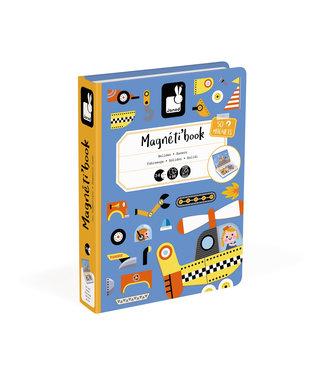 Janod Magnetibook - Racers 3 tot 8 jaar