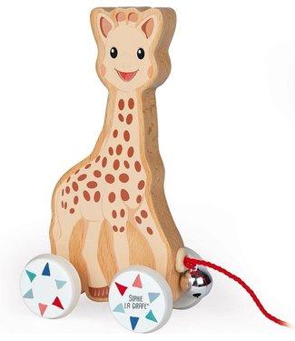 Janod Janod Trekfiguur Sophie de Giraffe 16,5 cm H  1+