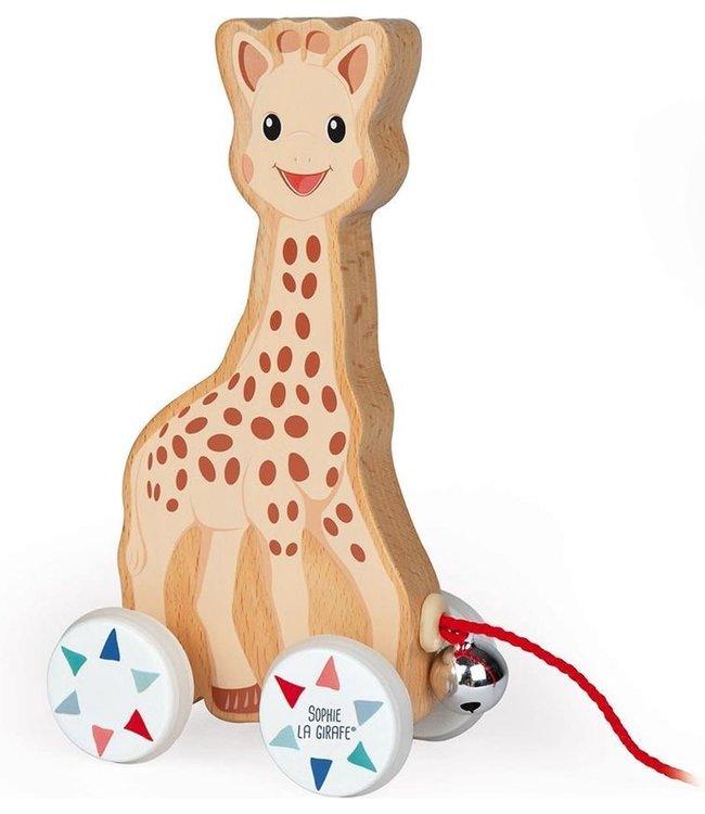 Janod Trekfiguur Sophie de Giraffe 16,5 cm H  1+