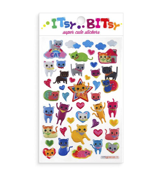 Ooly  Stickers ''Itsy Bitsy'' Kattenogen