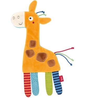 Sigikid Sigikid PlayQ Rustling Comforter Giraffe 27 cm 0+