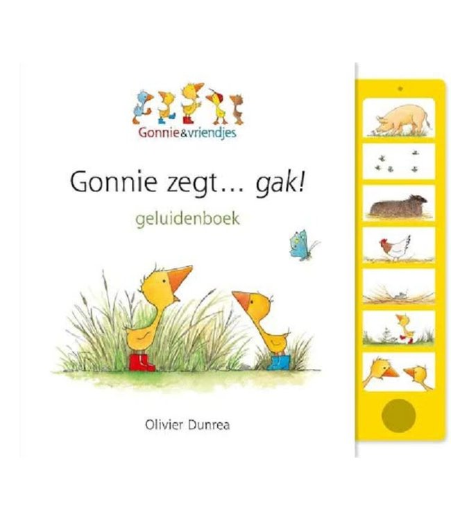 Gonnie Zegt Gak (geluidenboek) 1+