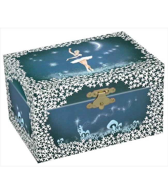 Harlekijn Music Box Ballet Dancer - Figurine Ballerina