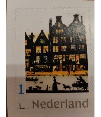 Postzegel voor Nederland