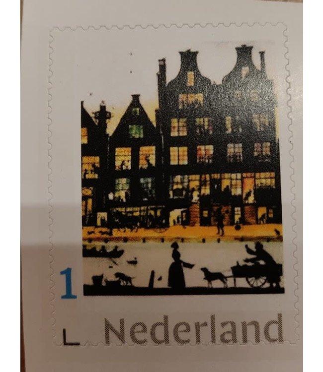 1 Postzegel voor Nederland