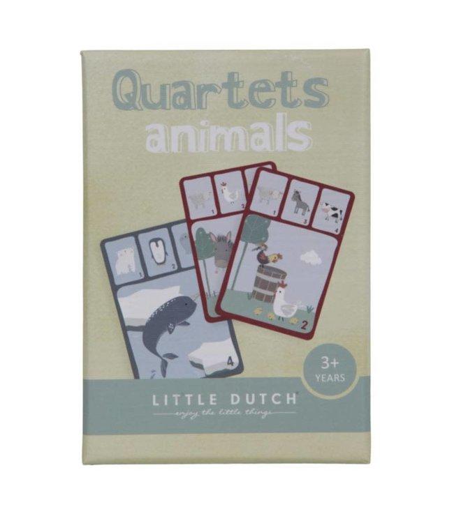 Little Dutch Dieren Kwartet 3+