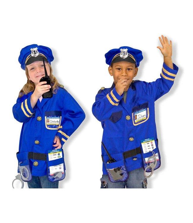 Melissa and Doug Police Role Play Set 3-6 jaar