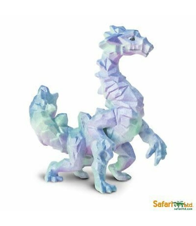 Safari Crystal Cavern Dragon 12 cm draak 4+