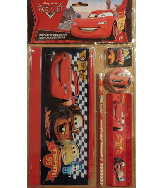 Pencil Case with Accessoires Cars