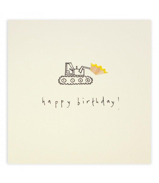 Pencil Shavings Cards by Ruth Jackson | Happy Birthday | Loader