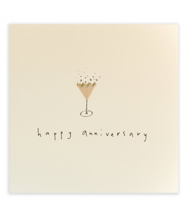Pencil Shavings Cards by Ruth Jackson | Happy Anniversary | Fizz