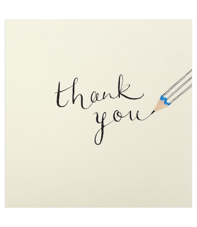 Pencil Shavings Cards by Ruth Jackson | Thank You | Pencil