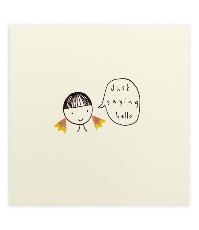 Pencil Shavings Cards by Ruth Jackson | Just Saying Hello
