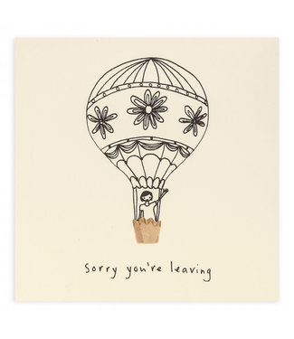 Ruth Jackson Pencil Shavings Cards by Ruth Jackson | Sorry You're Leaving