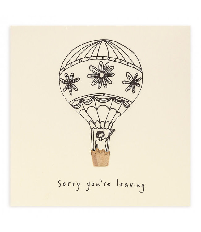 Pencil Shavings Cards by Ruth Jackson | Sorry You're Leaving