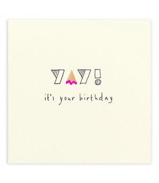Ruth Jackson Pencil Shavings Cards by Ruth Jackson | It's Your Birthday | Yay