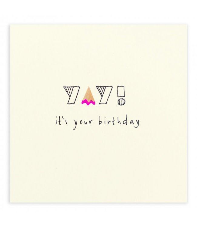 Pencil Shavings Cards by Ruth Jackson | It's Your Birthday | Yay