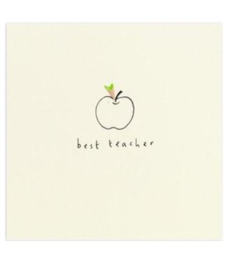 Ruth Jackson Pencil Shavings Cards by Ruth Jackson | Best Teacher | Apple