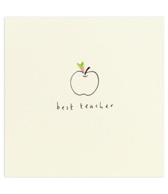 Pencil Shavings Cards by Ruth Jackson | Best Teacher | Apple