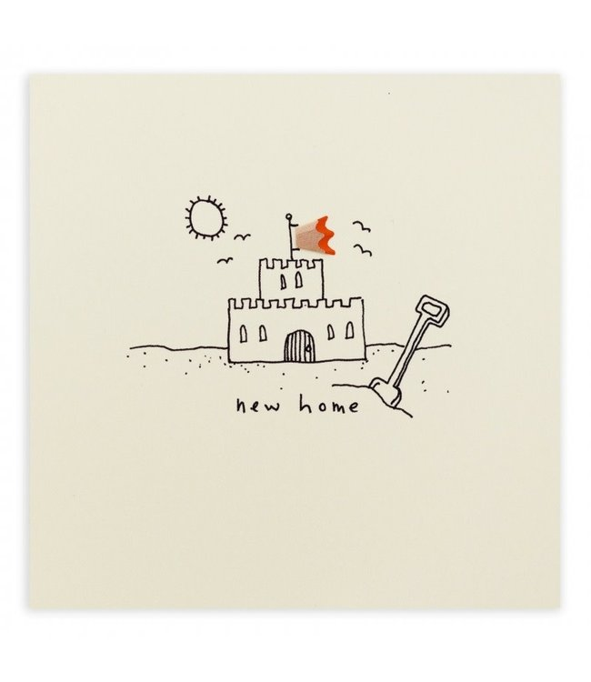 Pencil Shavings Cards by Ruth Jackson | New Home | Castle