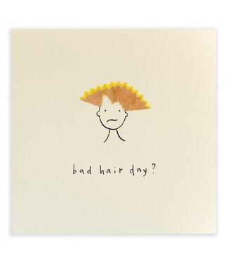Ruth Jackson Pencil Shavings Cards by Ruth Jackson | Bad Hair Day?