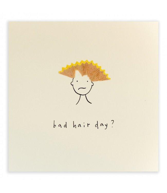 Pencil Shavings Cards by Ruth Jackson | Bad Hair Day?