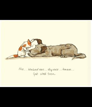 Two Bad Mice Two Bad Mice | Anita Jeram | Aha...Blocked Ears...Dry Nose...HMMM / Get Well Soon