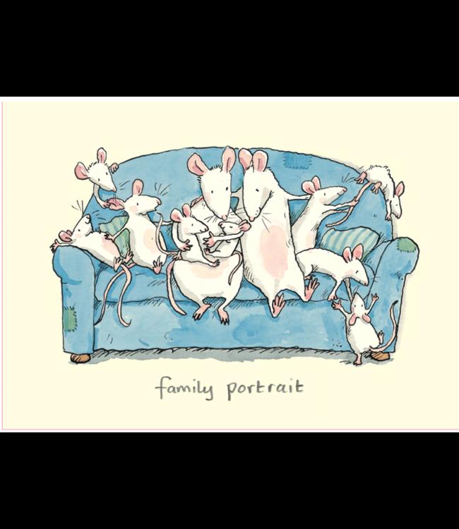 Two Bad Mice | Anita Jeram | Family Portrait