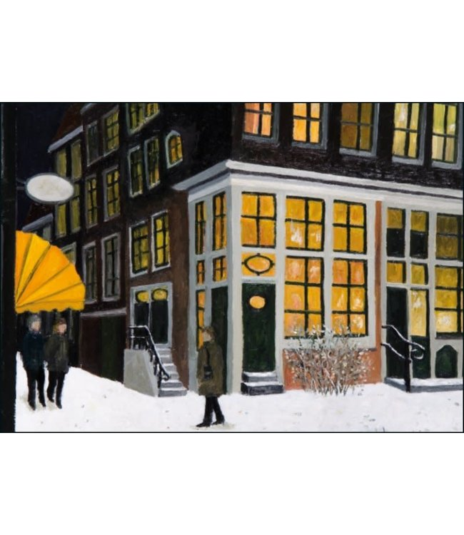 Bekking & Blitz   Laetitia de Haas    Winter Snow   Street in the Evening