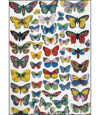 Bekking & Blitz Bekking & Blitz | Franse School | Plate with butterflies