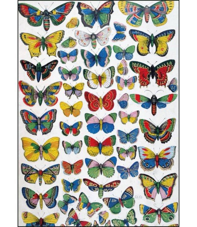Bekking & Blitz   Franse School   Plate with butterflies
